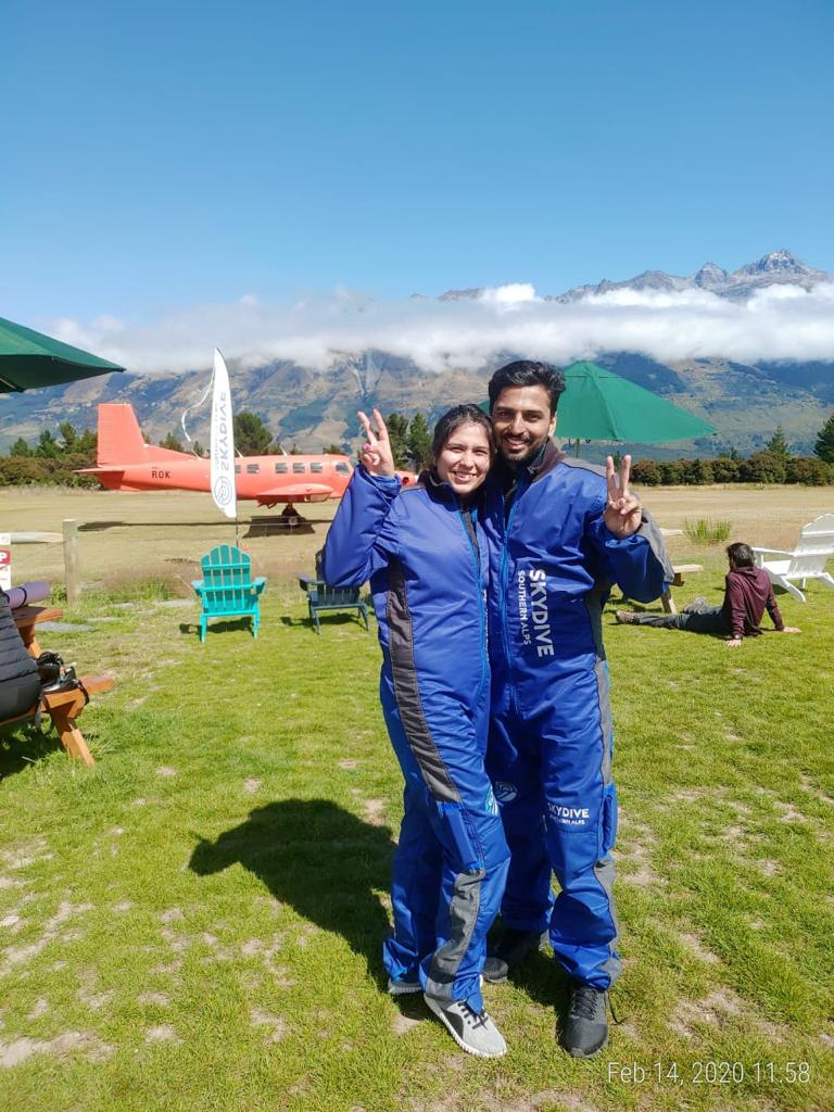 Skydiving Glenorchy, Magnificent New Zealand
