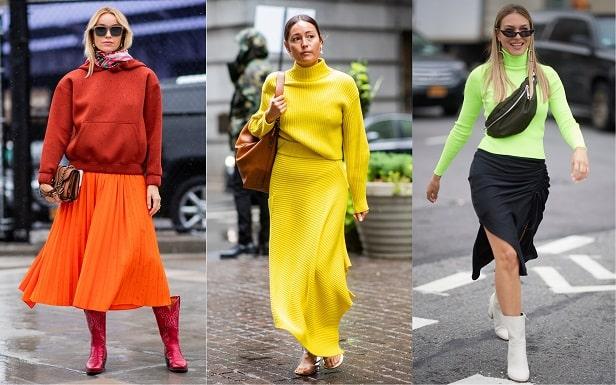 Women Clothing Styles - Highlighting Neon