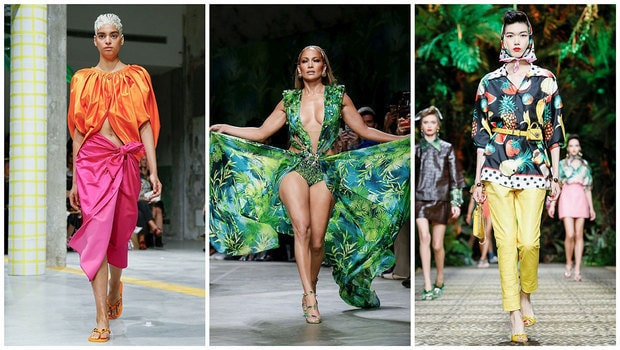 Women Clothing Styles - Tropical Fashion