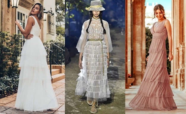 Women Clothing Styles - gowns-in-tiers